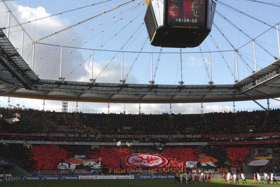 CommerzbankArena in Frankfurt am Main, Hessen Eintracht