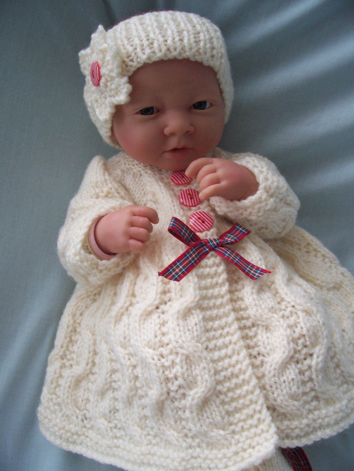 Hand Knitted Dolls Clothes Set by LookWhatMumsMade on Etsy ...