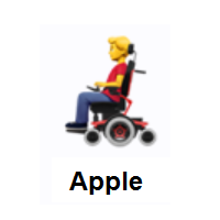 Man In Motorized Wheelchair Emoji In 2020 Emoji Emoji Design Wheelchair