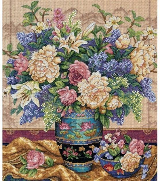 Dimensions Gold Collection Counted Cross Stitch Kit Oriental Splendor at Joann.com