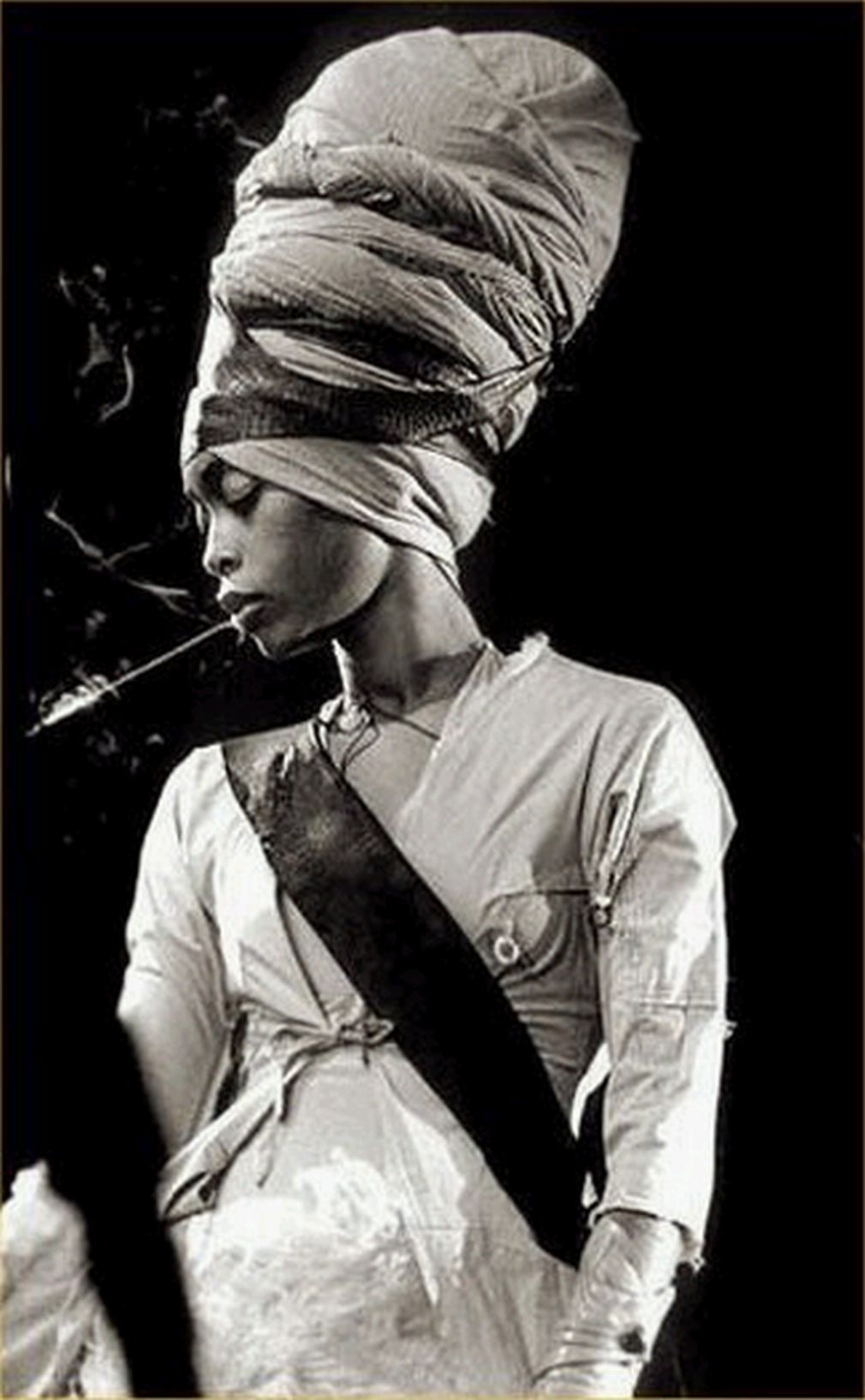 "Erica Abi Wright (born February 26, 1971), better known by her stage name Erykah Badu, is a Grammy Award-winning American singer-songwriter, record producer, activist and actress. Her work includes elements from R, hip hop and jazz. She is best known for her role in the rise of the neo soul sub-genre, and for her eccentric, cerebral musical stylings and sense of fashion. She is known as the ""First Lady of Neo-Soul"" or the ""Queen of Neo-Soul""."