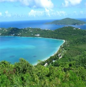 Megans Bay, St. Thomas...favorite place on the whole island!