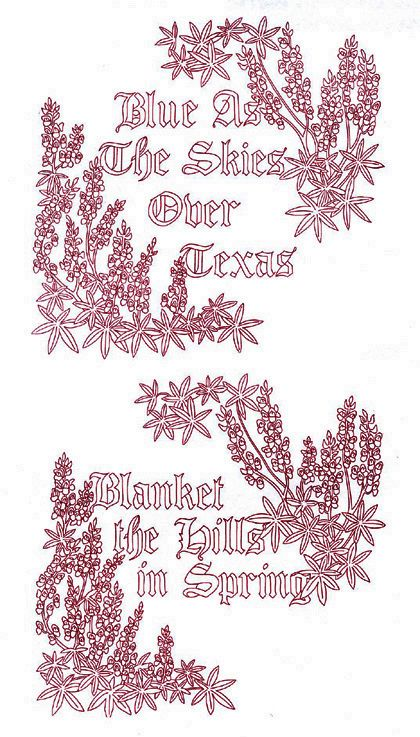 Embroidery Transfer Pattern Iron On Pattern For Hand Embroidery