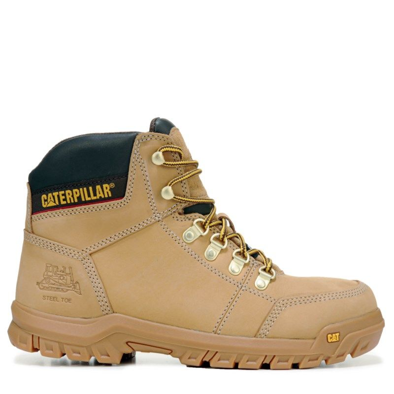 7ef8d0ff179 Men's Outline Medium/Wide Steel Toe Slip Resistant Work Boot ...