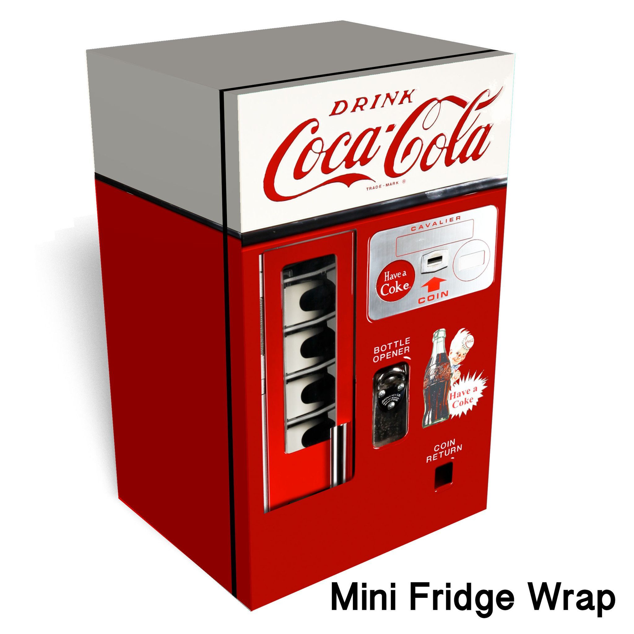 mini coca cola machine