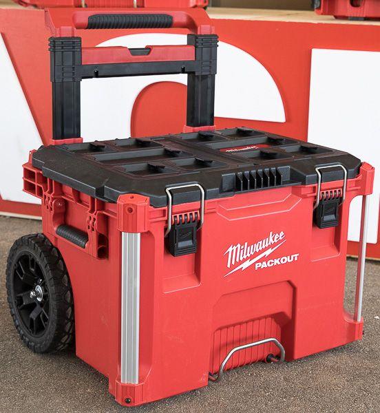 Milwaukee Packout Tool Storage Roller Tool Cart Tool