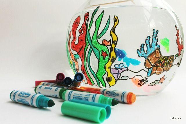 attività con pennarelli crayola
