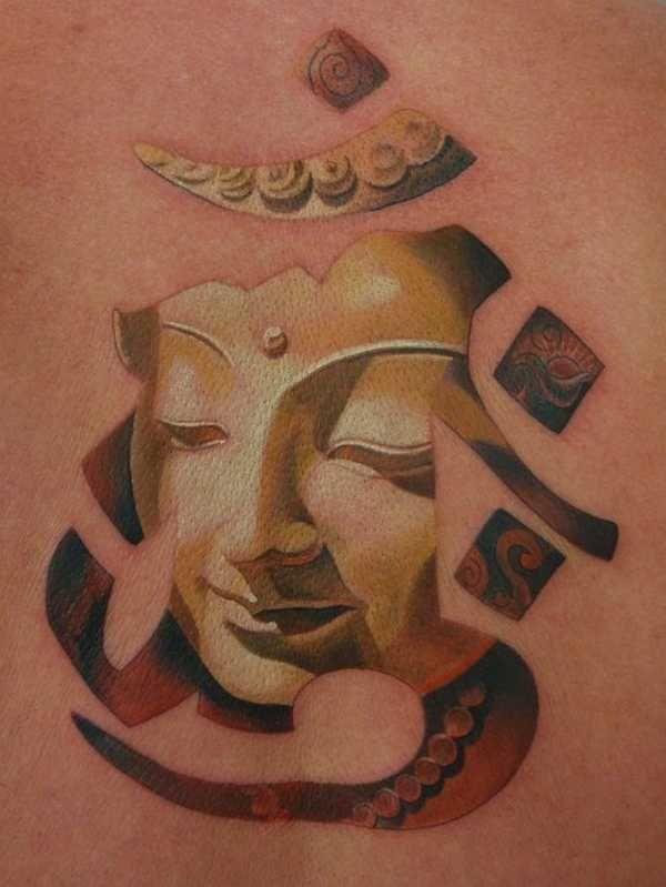 Das heilige Om Tattoo - Tattoo Spirit