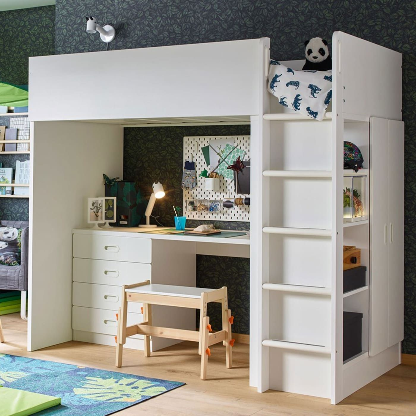 For kids with wild ideas Stuva loft bed, Adult loft bed