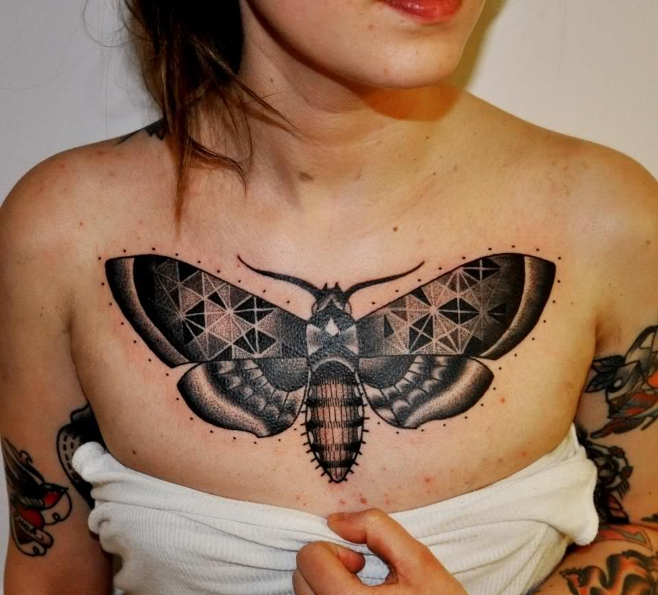 What is the meaning of a moth tattoo?