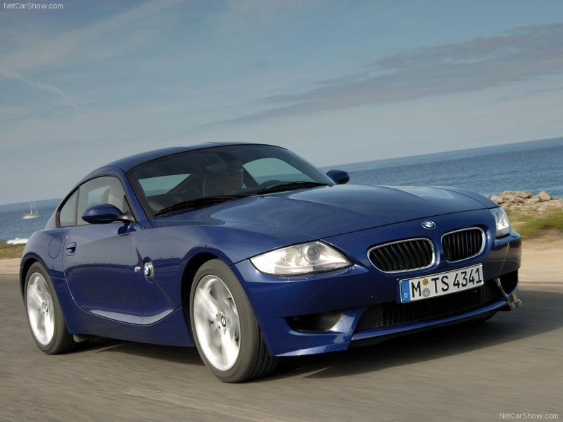 2006 BMW Z4 Coupe. My whip in blue! Check this one off the list ...