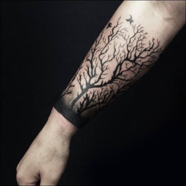 Top 59 Forearm Tree Tattoo Ideas 2020 Inspiration Guide Tree Tattoo Forearm Tattoo Designs Men Tree Tattoo