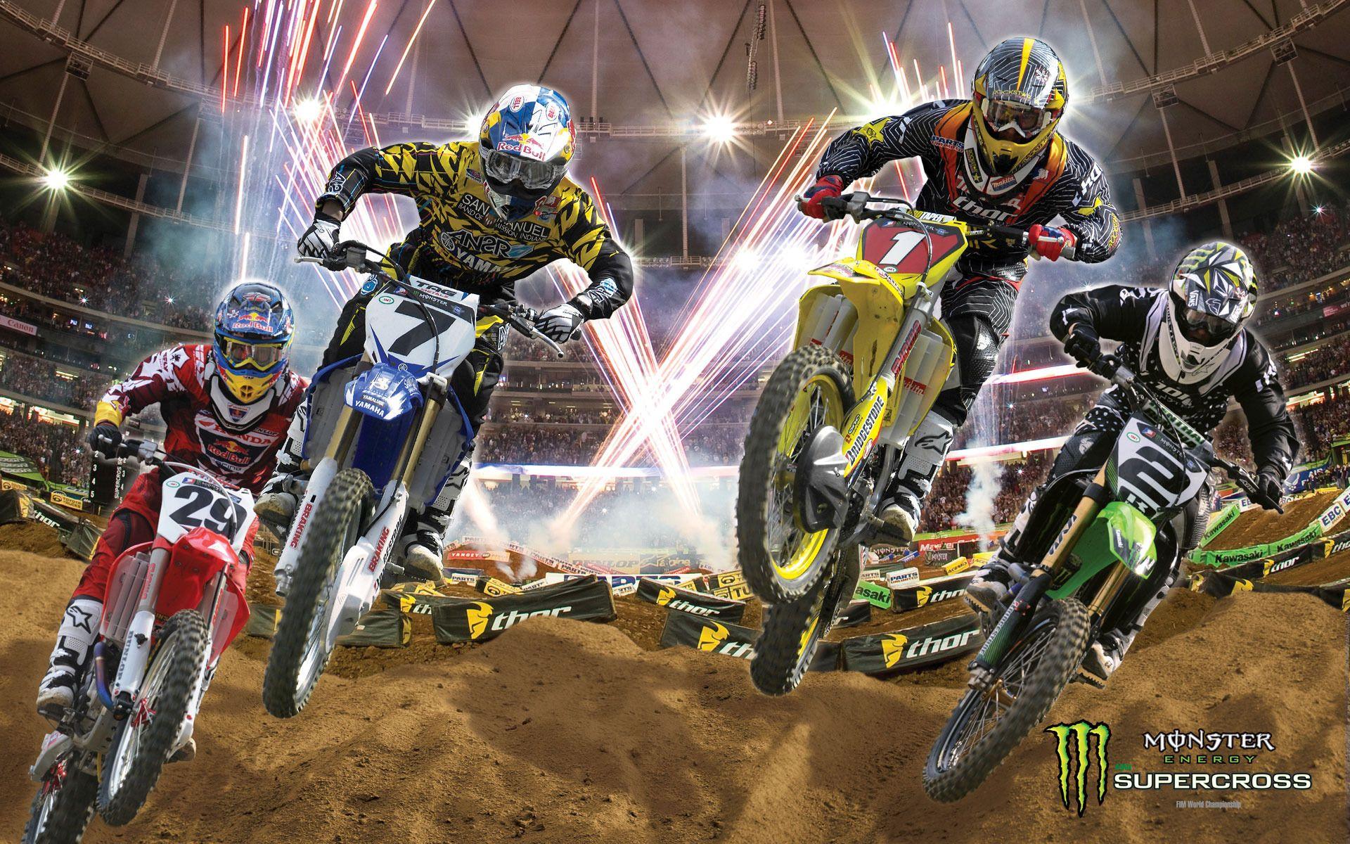 Monster Energy Supercross Wallpaper