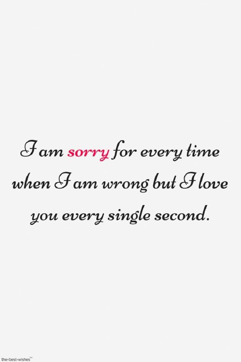 Sorry Love Quotes For Him Truelovequotesforher Morning Love Quotes Love Quotes For Him Apologizing Quotes
