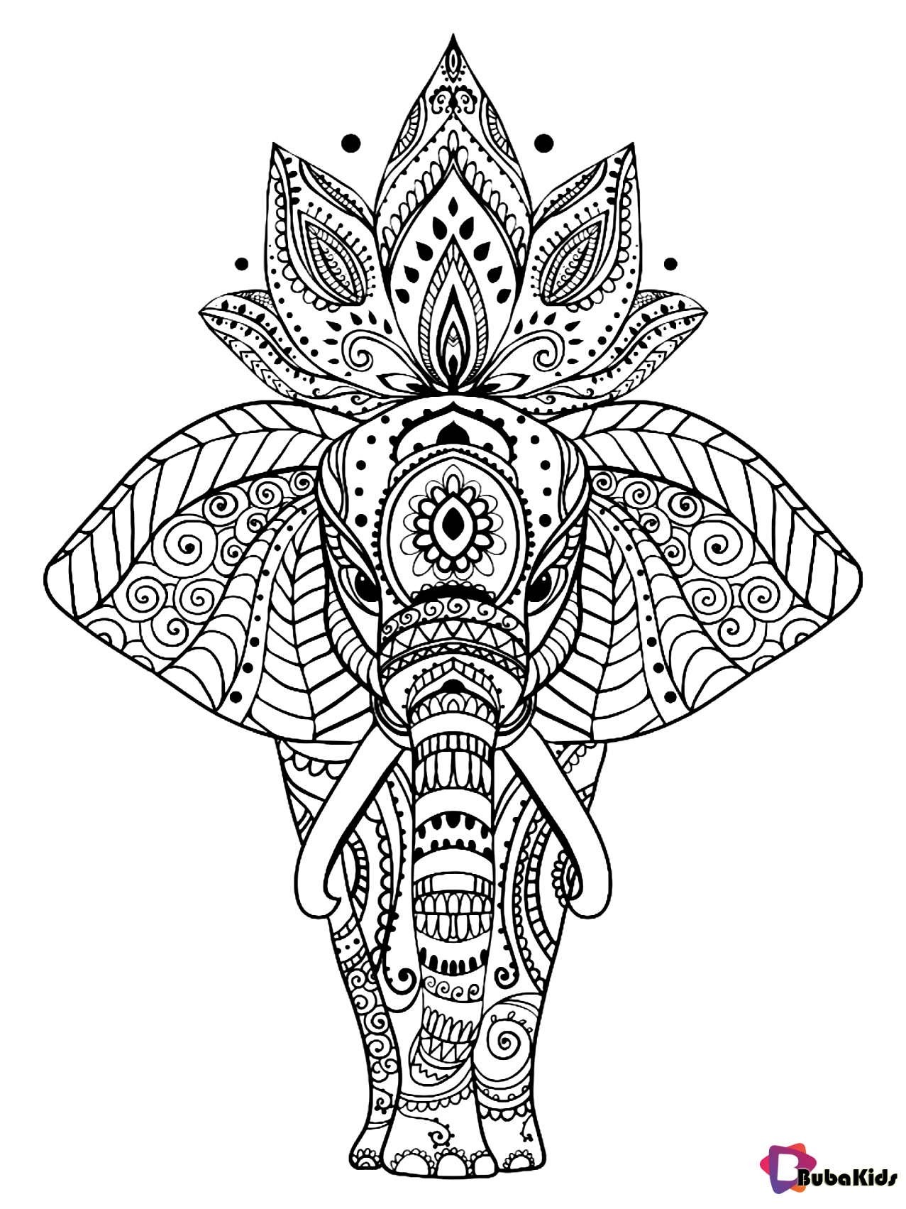 Pin By Adrian Adrian On Mandala Coloring Pages Elephant Coloring Page Mandala Coloring Pages Mandala Coloring