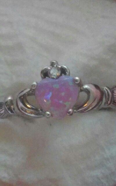 My Irish Claddagh Ring. I love it!