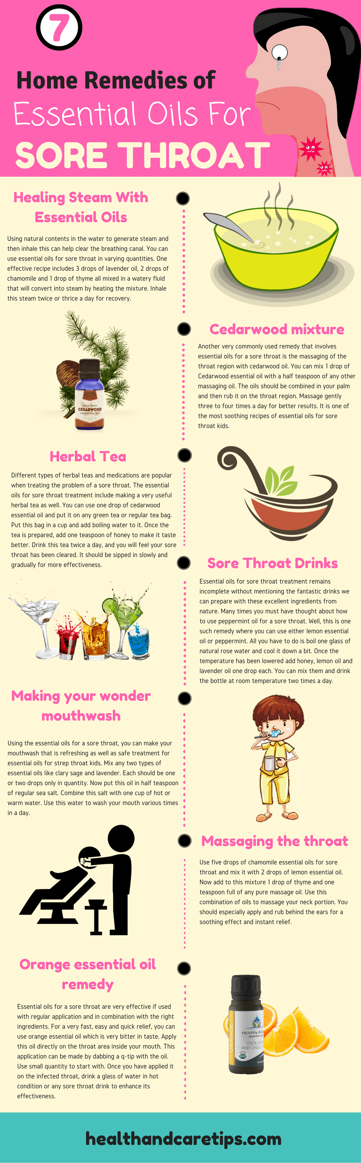 "best remedies of essential oils for sore throat treatment | ""our"