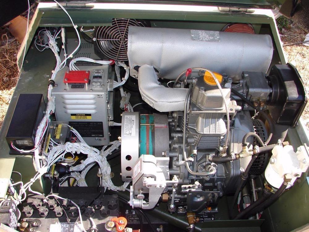 Fermont MEP 831A 3KW 3 8 kva Yanmar diesel generator silent