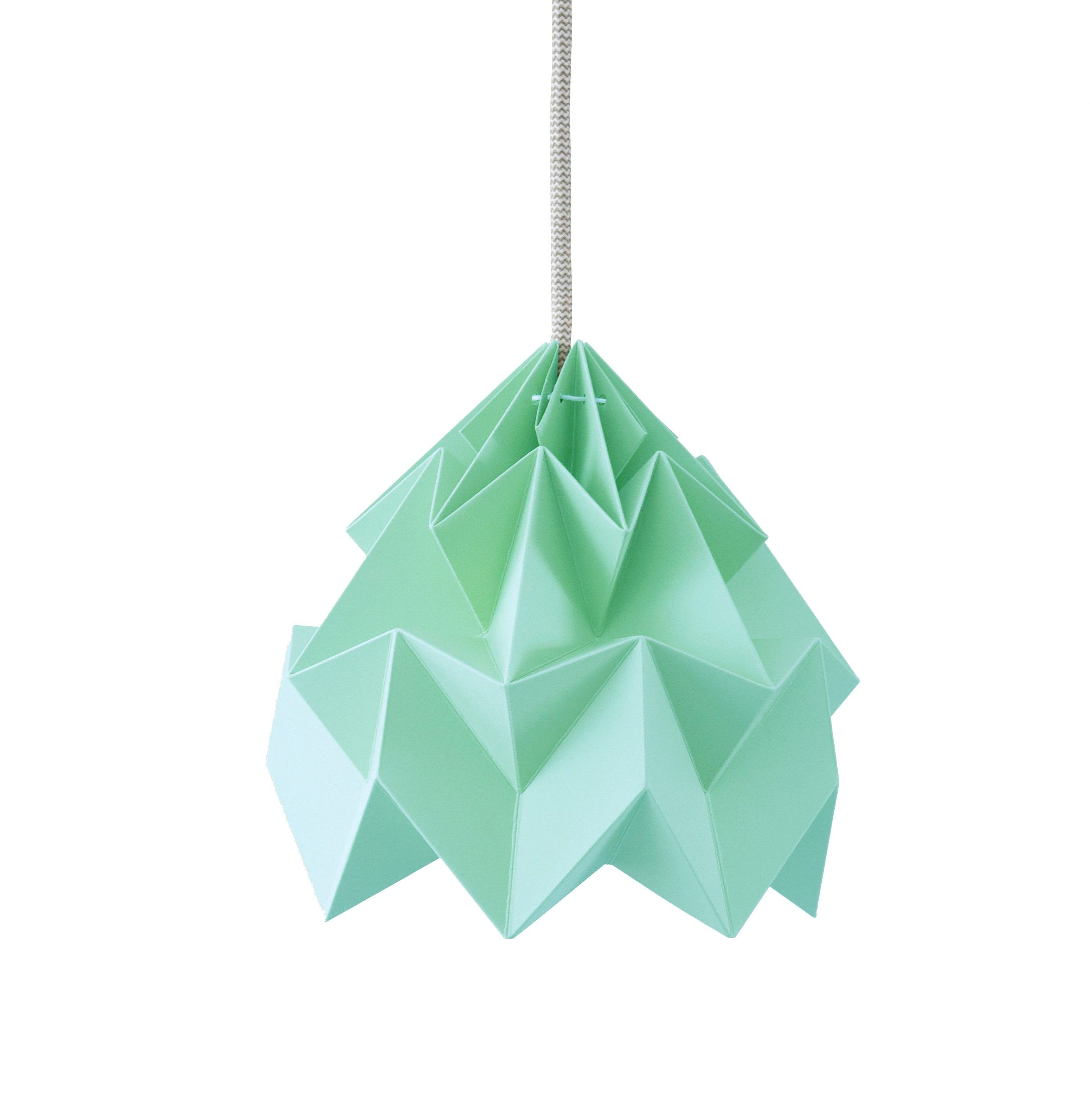 Moth Suspension Origami Menthe Snowpuppe