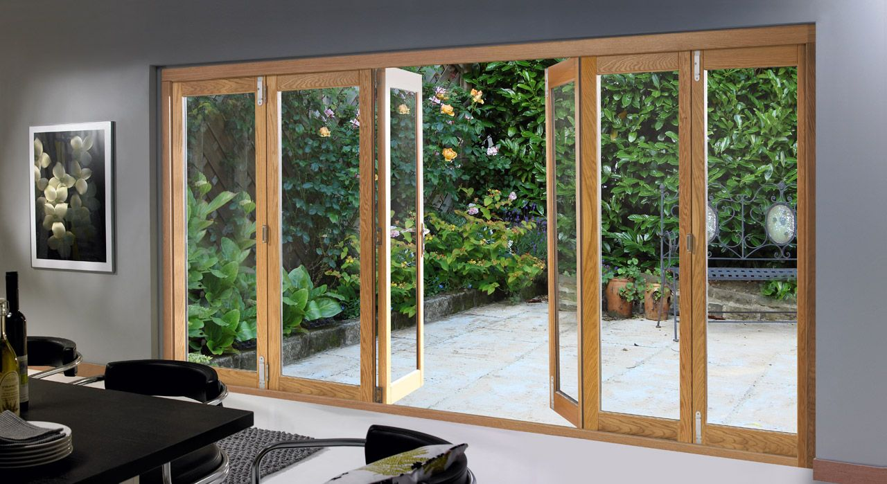 Folding Patio Doors Have Become An Alternative Way In Beautifying Houses  Nowadays. Just Like Its Name, This Kind Of Door Is Applied In The House  Patio And ...