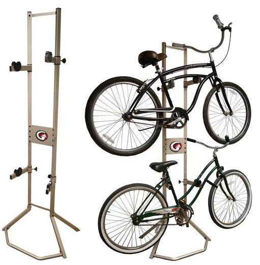 Gearup Free Standing Bicycle Storage Rack Bike Storage