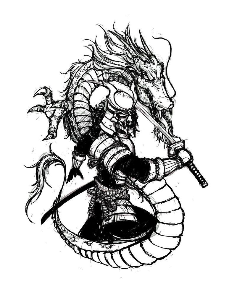 resultado de imagem para samurai dragon tattoo japanese. Black Bedroom Furniture Sets. Home Design Ideas