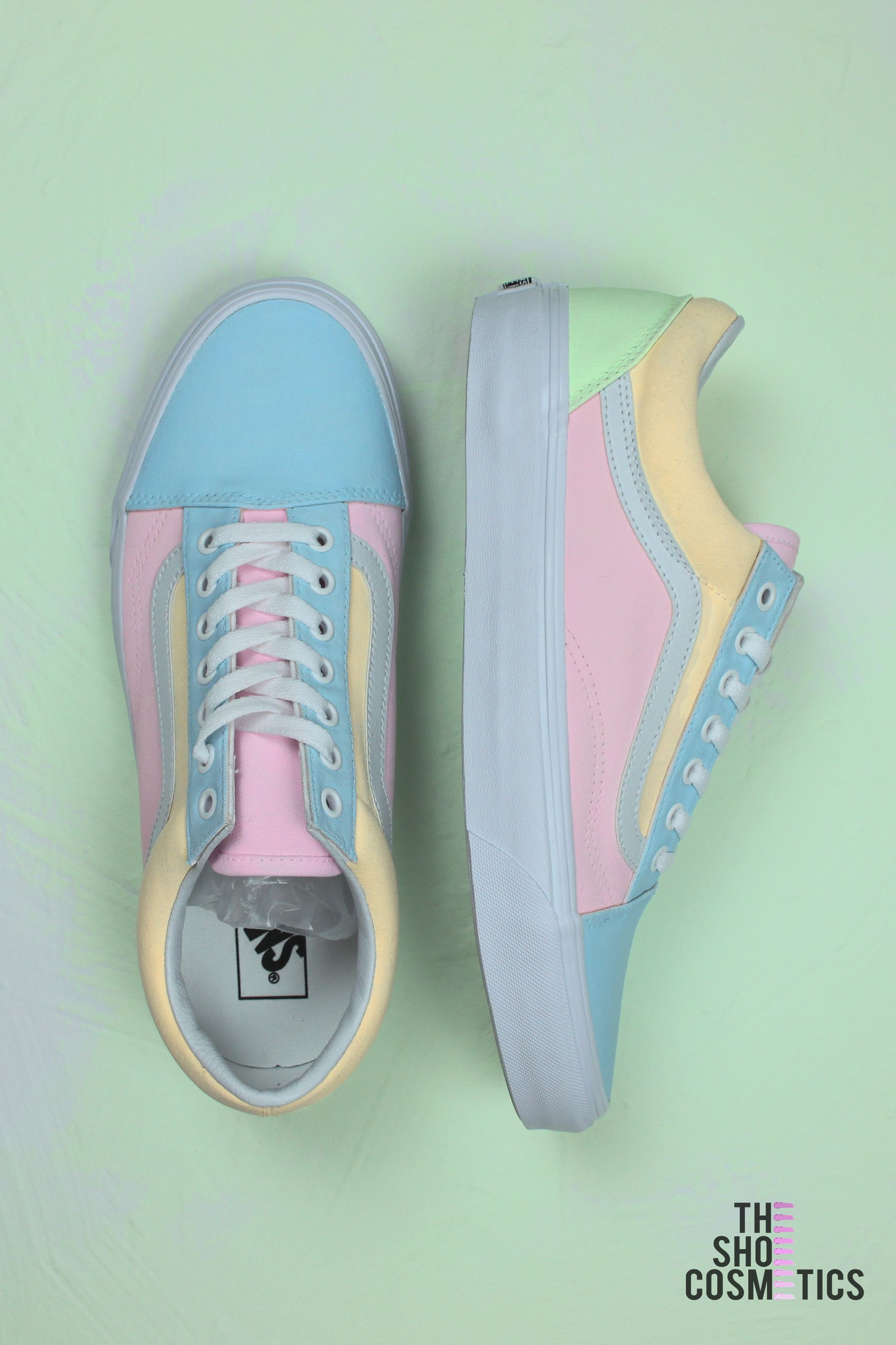 d045cc9910 Explore our customized pastel Vans old skool custom sneakers. Looking for old  skool Vans