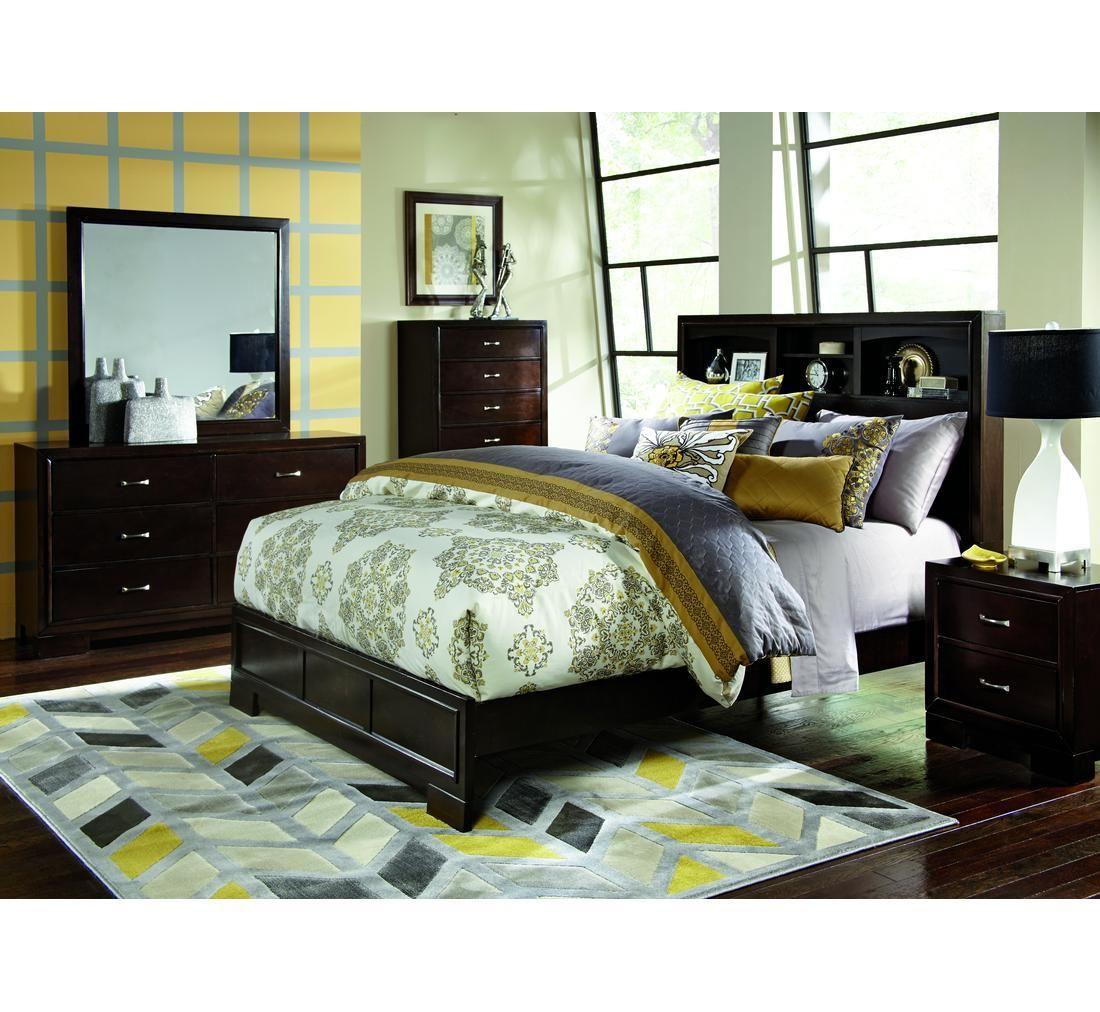 Liam 5 Pc Full Bedroom Badcock &more Bedroom furniture