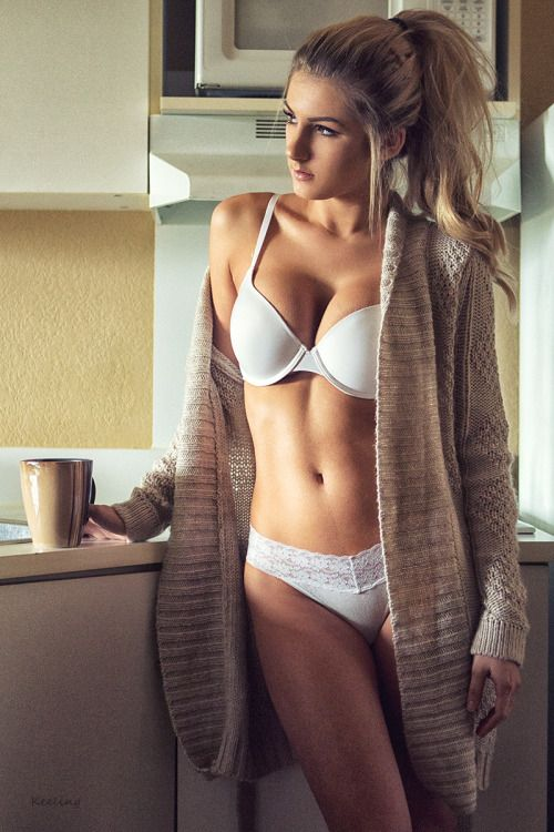 lingerie Morning coffee in
