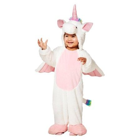 c685b4739e6b 2017 Halloween Unicorn costume for Quinnster. Toddler Girls' Rainbow Unicorn  Plush Jumpsuit : Target