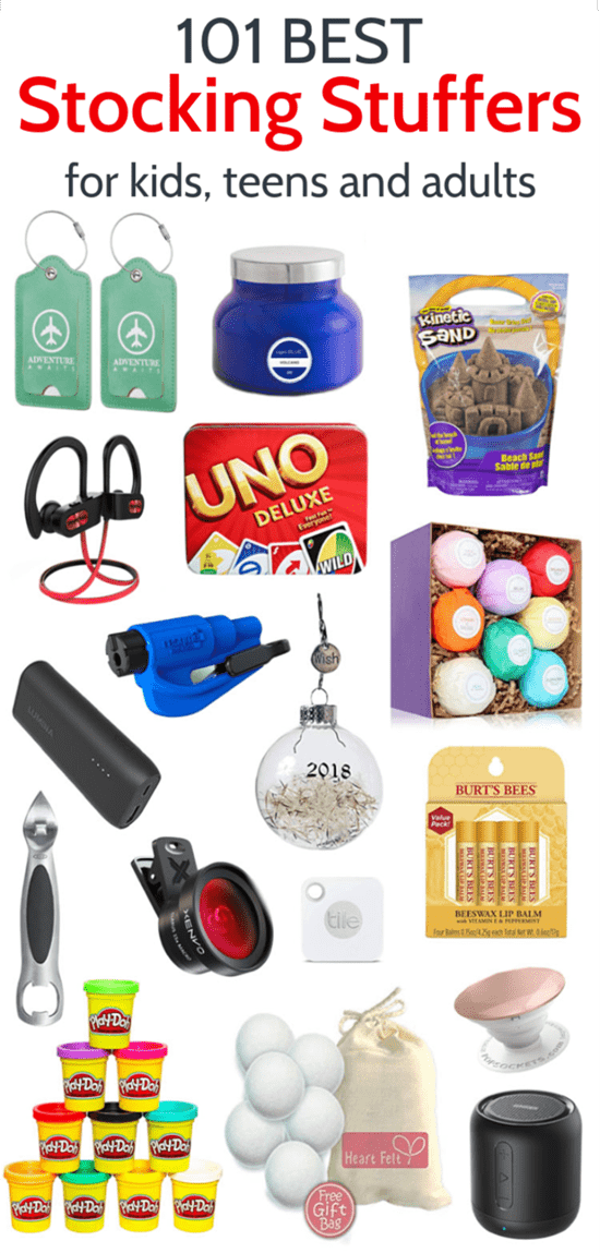 101 of the Best Stocking Stuffers for the Whole Family - Lovely Etc.