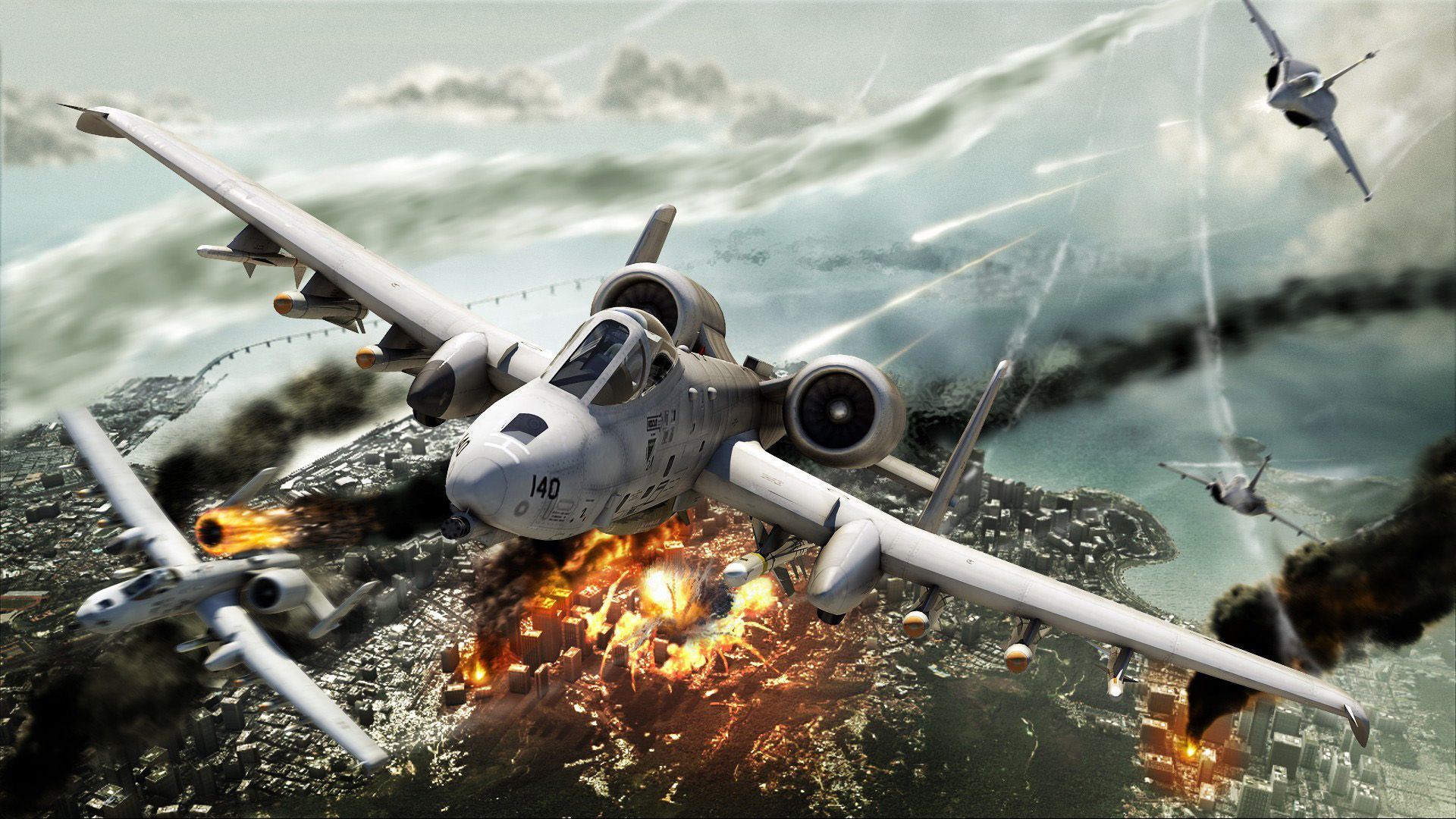 A 10 Thunderbolt Ii Ground Attack Fighter Jets Fighter Aircraft