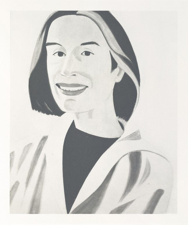 White coat, 2004 | Alex Katz | Pinterest | Alex katz