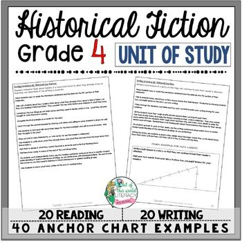 Historical Fiction Reading & Writing Unit Grade 4: 2nd