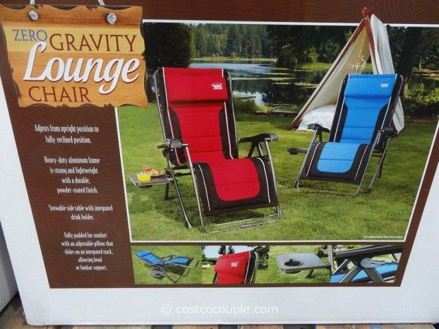 Timber Ridge Zero Gravity Lounge Chair Costco Great Outdoor