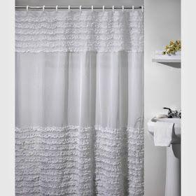 Pretty Things Ruffle Shower Curtains Ruffle Shower Curtains