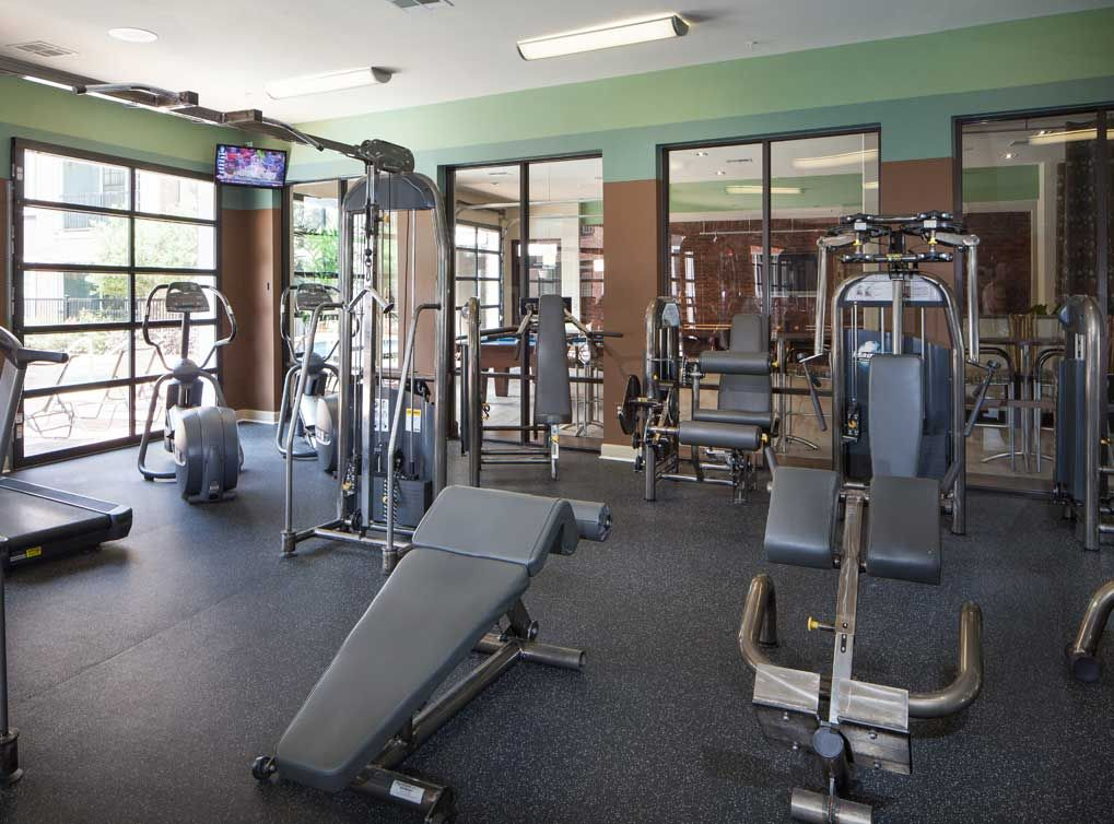 State Of The Art Fitness Center At At Amli Eastside A Luxury