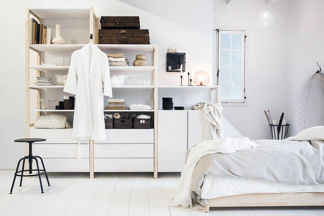 Ivar in je slaapkamer ikea ikeanl inspiratie interieur kast klassieker with buffetkast wit ikea - Kallax wandmontage ...
