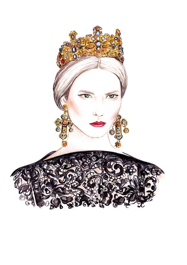 Karlie Kloss   Dolce & Gabbana F.W 2014