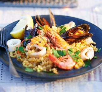 Smoky paprika seafood rice recipe rice smoked paprika and paella forumfinder Choice Image