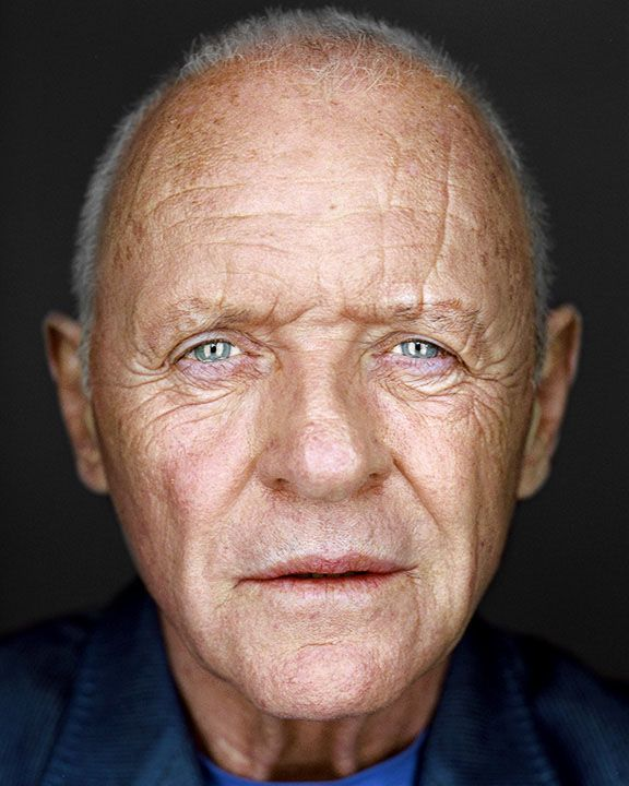 Anthony Hopkins by Martin Schoeller