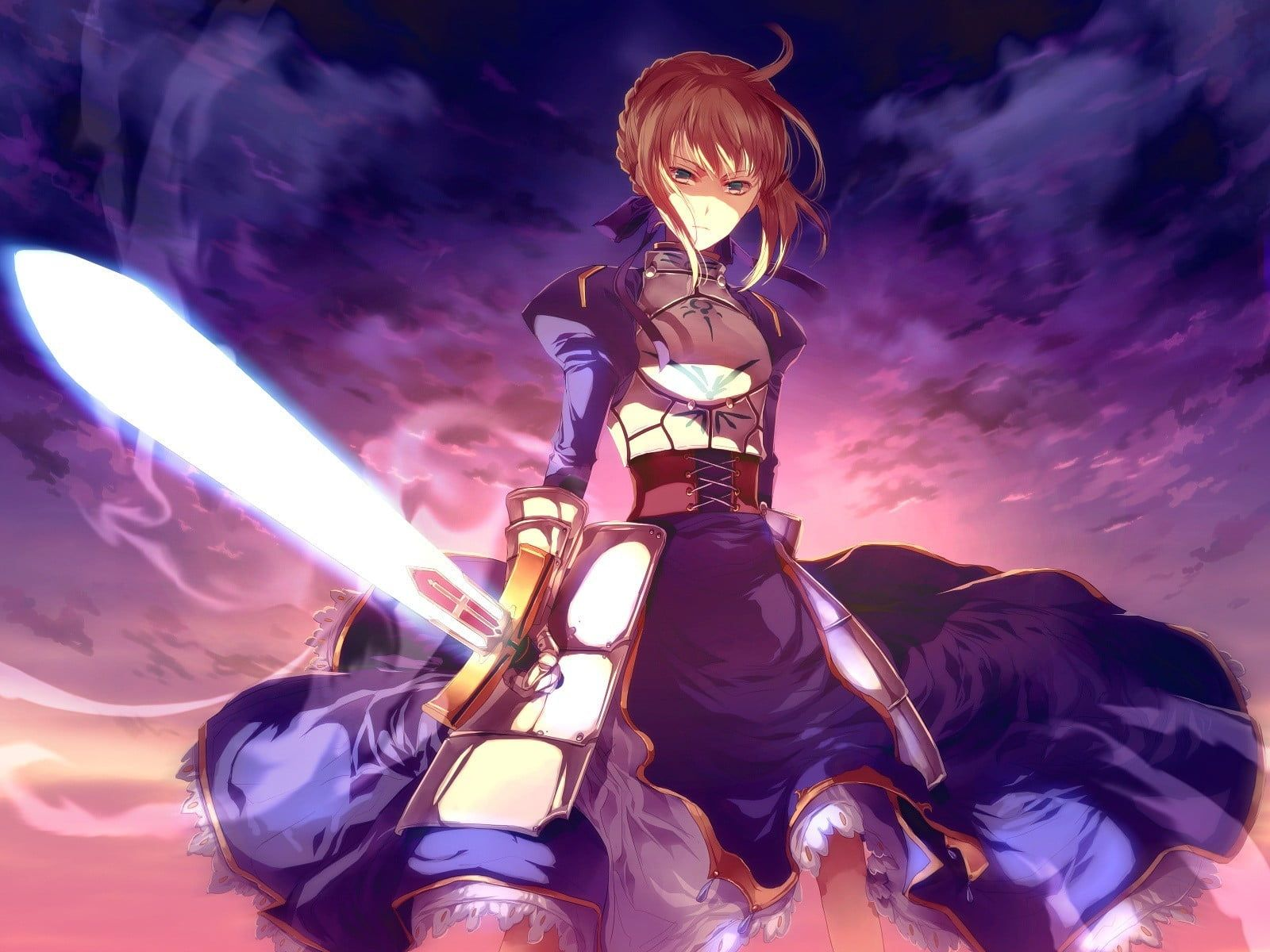 Fate Series anime TypeMoon Saber Fate/Zero Fate/Stay