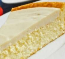 Crustless Cheesecake with Sour Cream Topping (South Beach Phase 1 Recipe) | Diet Plan 101 #southbeachdietphase1