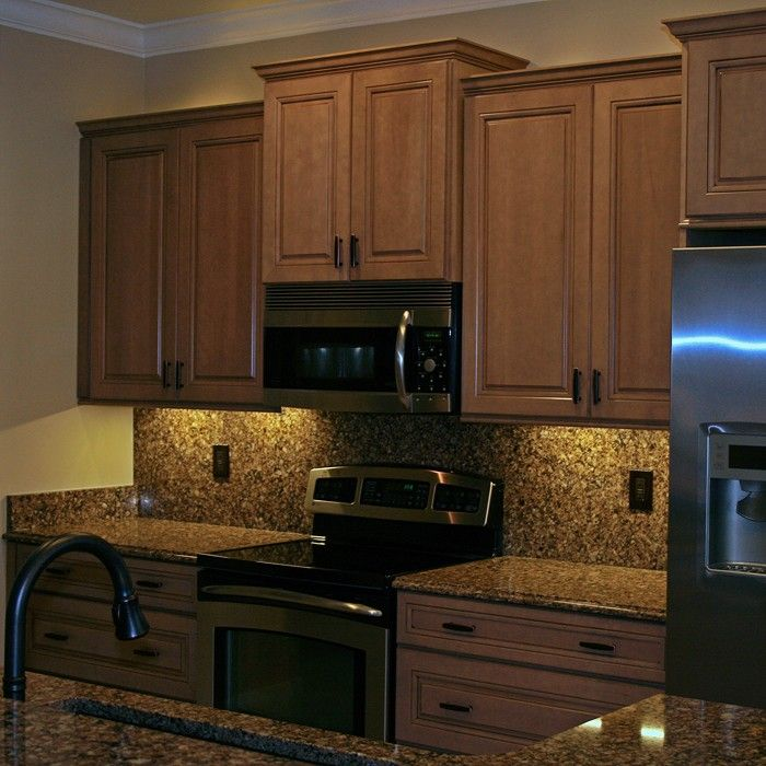 Light Up Those Dark Areas Underneath Your Kitchen Cabinets
