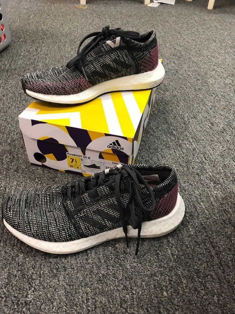 03b6652ff ADIDAS PureBoost GO - NEW WITH BOX- WOMEN S 7.5 - COMFORTABLE STYLISH.   fashion  clothing  shoes  accessories  mensshoes  athleticshoes (ebay  link)   ...