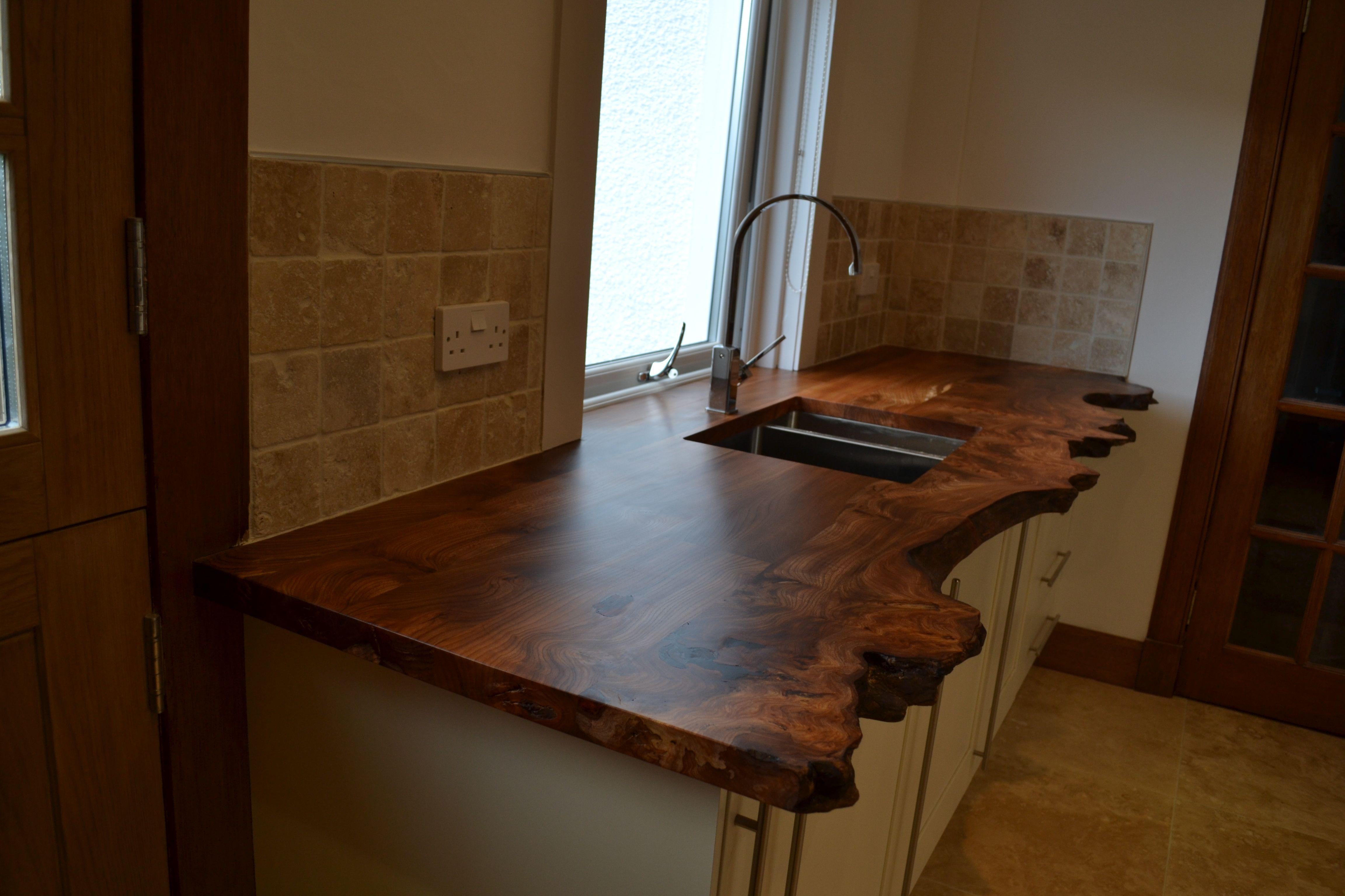 Kitchen Worktops In Scottish Elm Kitchen Worktop Kitchen Kitchen Tops