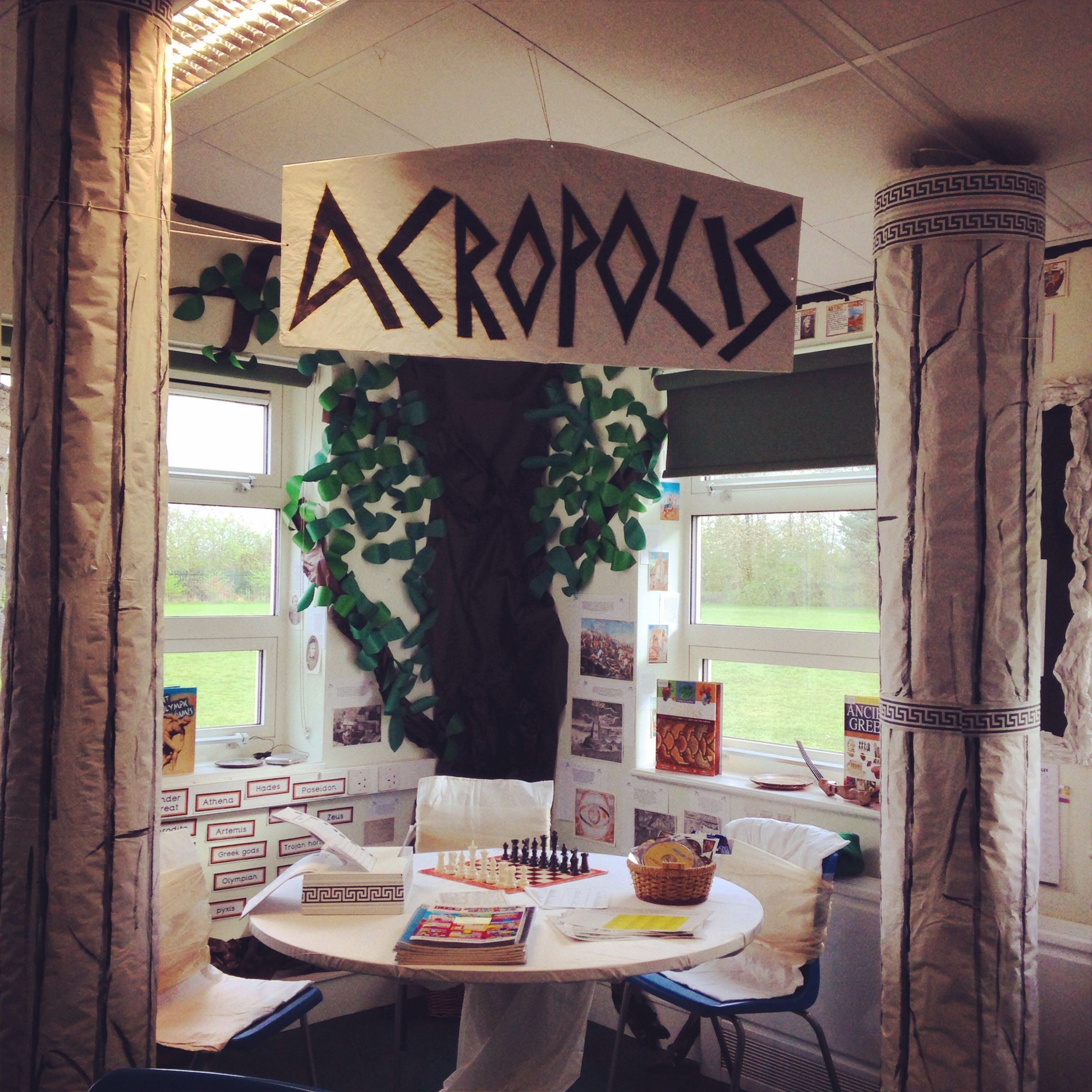 Ancient History Classroom Decorations : Simple area for history greece open enough to be able