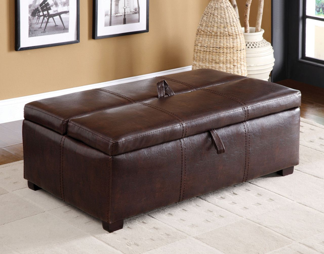 Appoline Collection Ottoman With Hidden Twin Bed