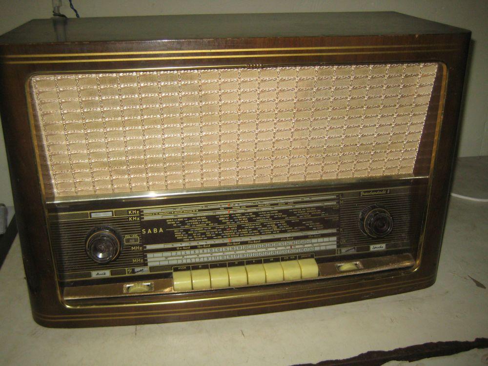 saba freudenstadt 8 r hrenradio altes radio antikes. Black Bedroom Furniture Sets. Home Design Ideas