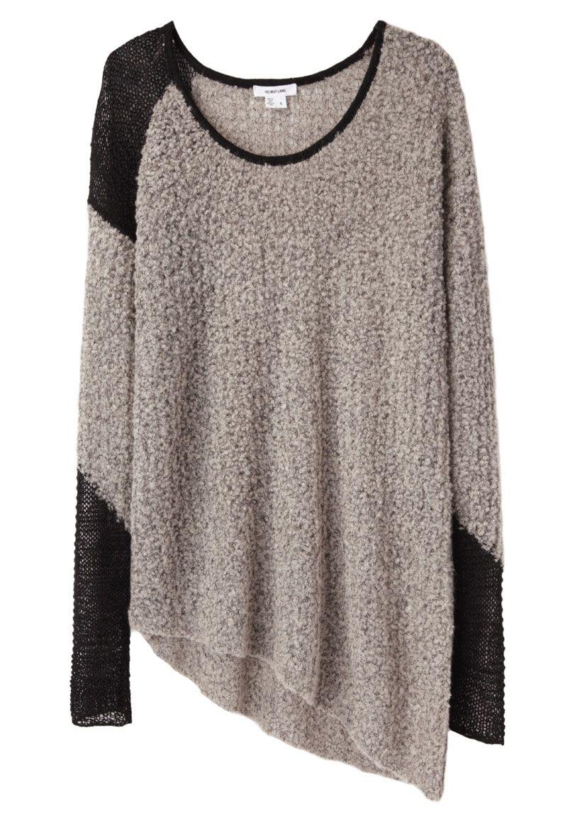 Helmut Lang / Flecked Bouclé Pullover | Fashion | Pinterest ...